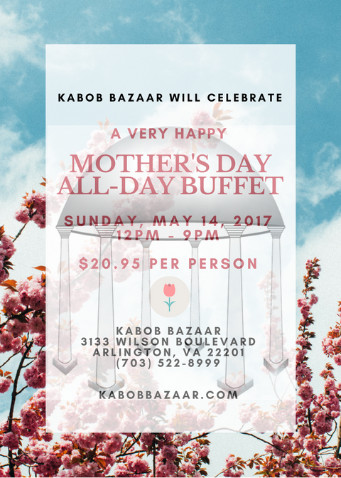 Kabob Bazaar Mother's Day 2017