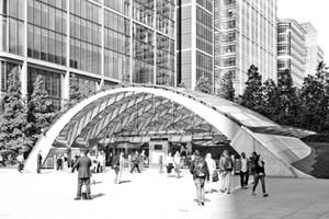 Canary Wharf Underground Station, London
