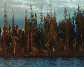 Таежное озеро