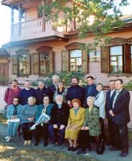 Открытие персональной выставки к 70-летию А.М. Титова. 2005 год