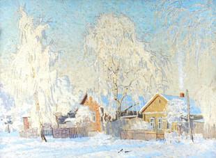 Зима в Ижевском