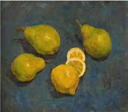 Груши и лимон