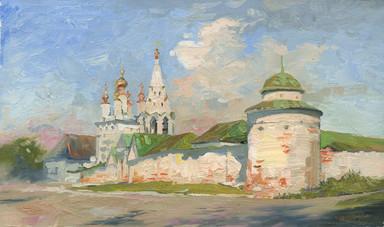 Рязанский кремль. Май