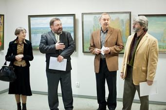 Открытие выставки «Осень-2010», посвященной 70-летию Рязанской организации СХР. 18.11.2010 г.
