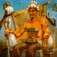 Трон Дали. Портрет Сальвадора Дали
