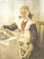 Портрет Гали Щербаковой