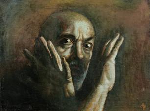 Испуг (Автопортрет)