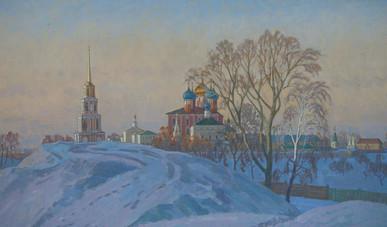 Золотой вечер у кремля
