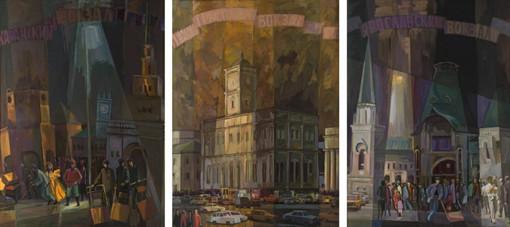Триптих. Три вокзала