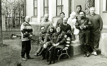 Участники пленэра «Касимов исторический». 1996 год