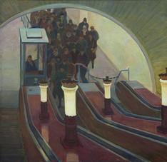 У эскалатора