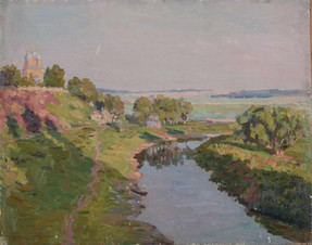 Утро на реке Трубеже