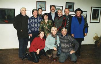 Открытие персональной выставки Надежды Блиновой 18.10.2002 г.