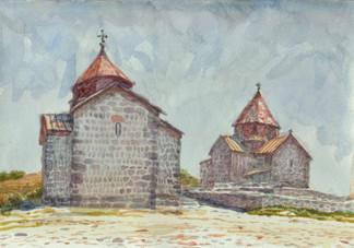 Армения.Севан.Ц.св..Карапета и ц.св.Апостолов