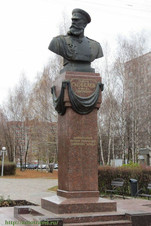 Памятник М. Скобелеву в Рязани