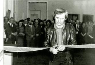 Открытие выставки «Искусство Рязани XX века». 1990 год