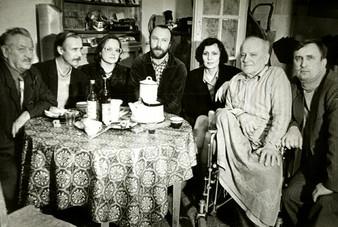 В гостях у В.Е. Куракина. Конец 1980-х