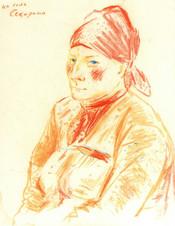 Женщина из села Секирино