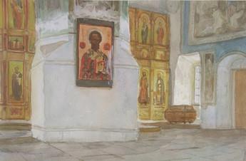 В Никольском храме