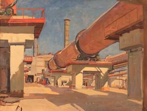 Цементный завод в Михайлове