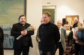 Юбилейная выставка Виктора Грушо-Новицкого. 12.03.2015 г.
