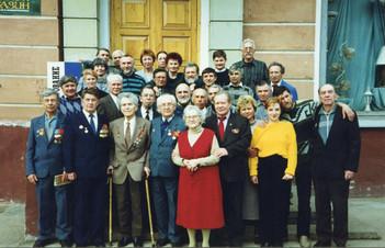 Чествование художников-ветеранов Великой Отечественной войны. Дом художника, 9 мая 2000 года.