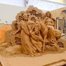 Резьба по песку