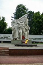 Монументальный комплекс на пл. Победы в Рязани