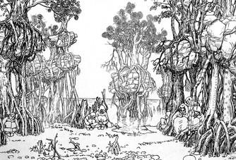 Люди берегового леса