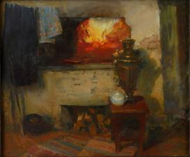 Жаркая печка