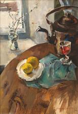 Натюрморт с медным чайником