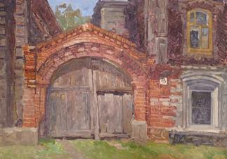 Вековые ворота. г. Богородск