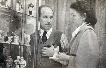 Сыров А.В. и его жена Сырова М.Ф.