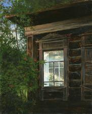 Под окном рябина
