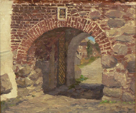 Никольские ворота. Соловки