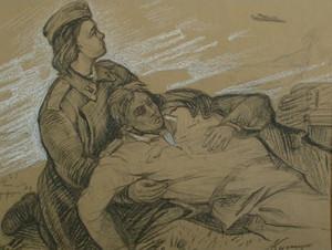 Медсестра Наташа и раненый