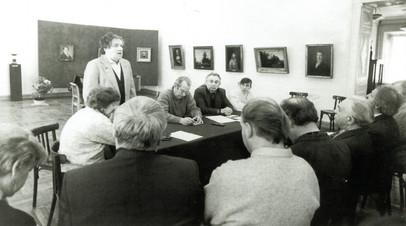Секретариат СХ России. Рязань, 1993 год