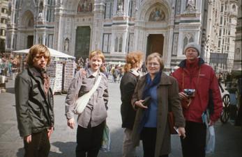 Наши в Италии. 2002 год