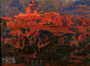 Земляной вал Переяславля Рязанского