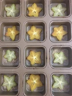 Starfruit in Baking Pan
