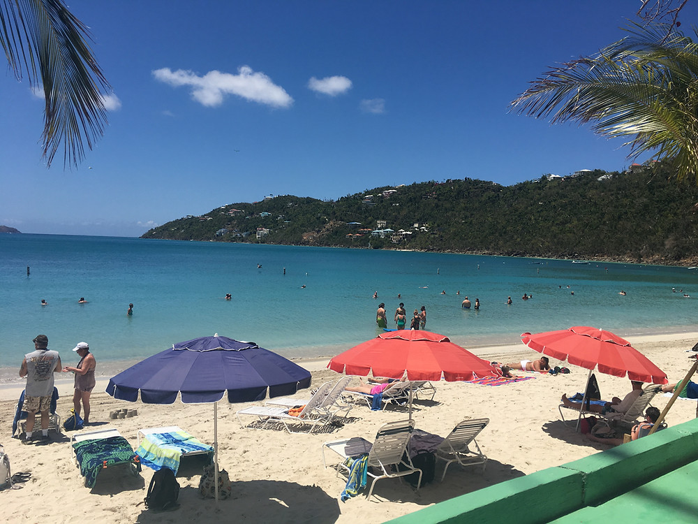 Magens Bay Beach St Thomas