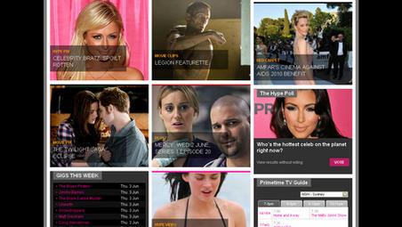 Yahoo Entertainment Platform Re-Launch
