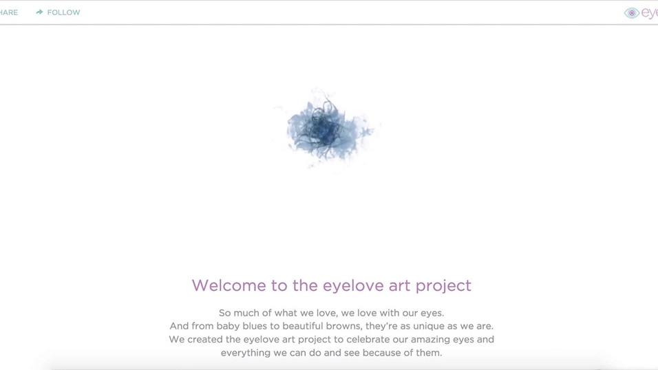 Eyelove Art Microsite