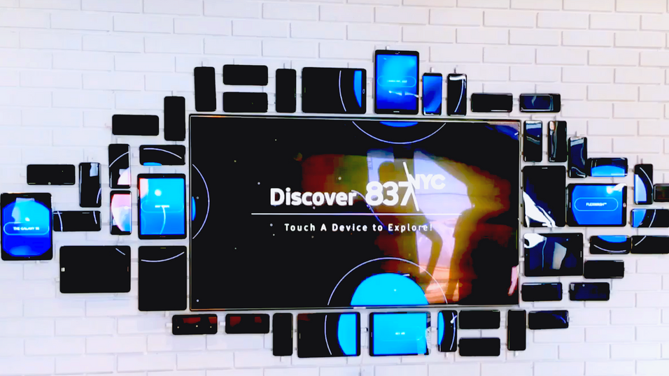 Samsung Device Wall