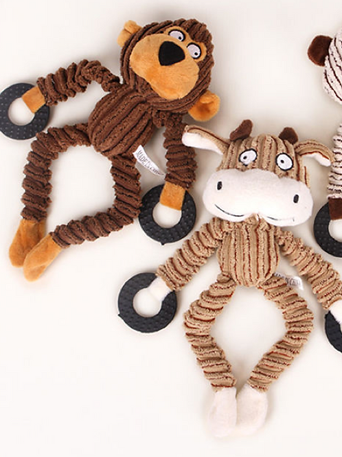 Long Legs Cow & Monkey Twin Pack
