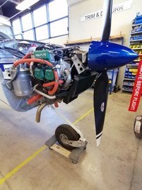 Powerplant - Rotax 912iS Sport (100 HP)