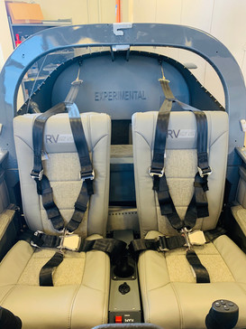 Interiors Front View - Seats & Baggage