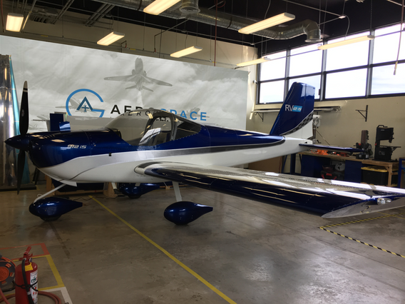 """Ready-to-fly RV-12iS """"Alpha"""""""