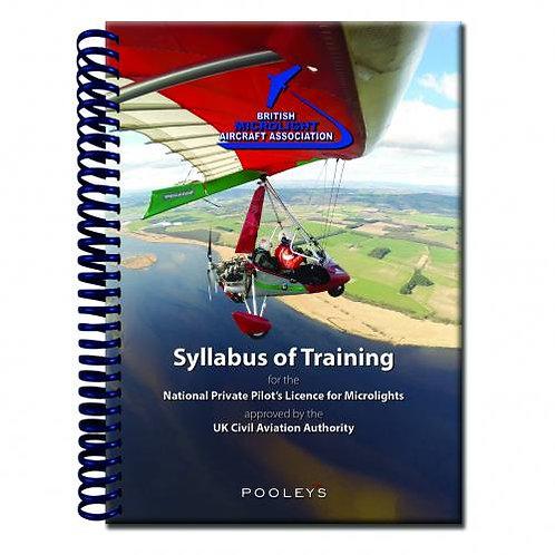 BMAA Syllabus of Training