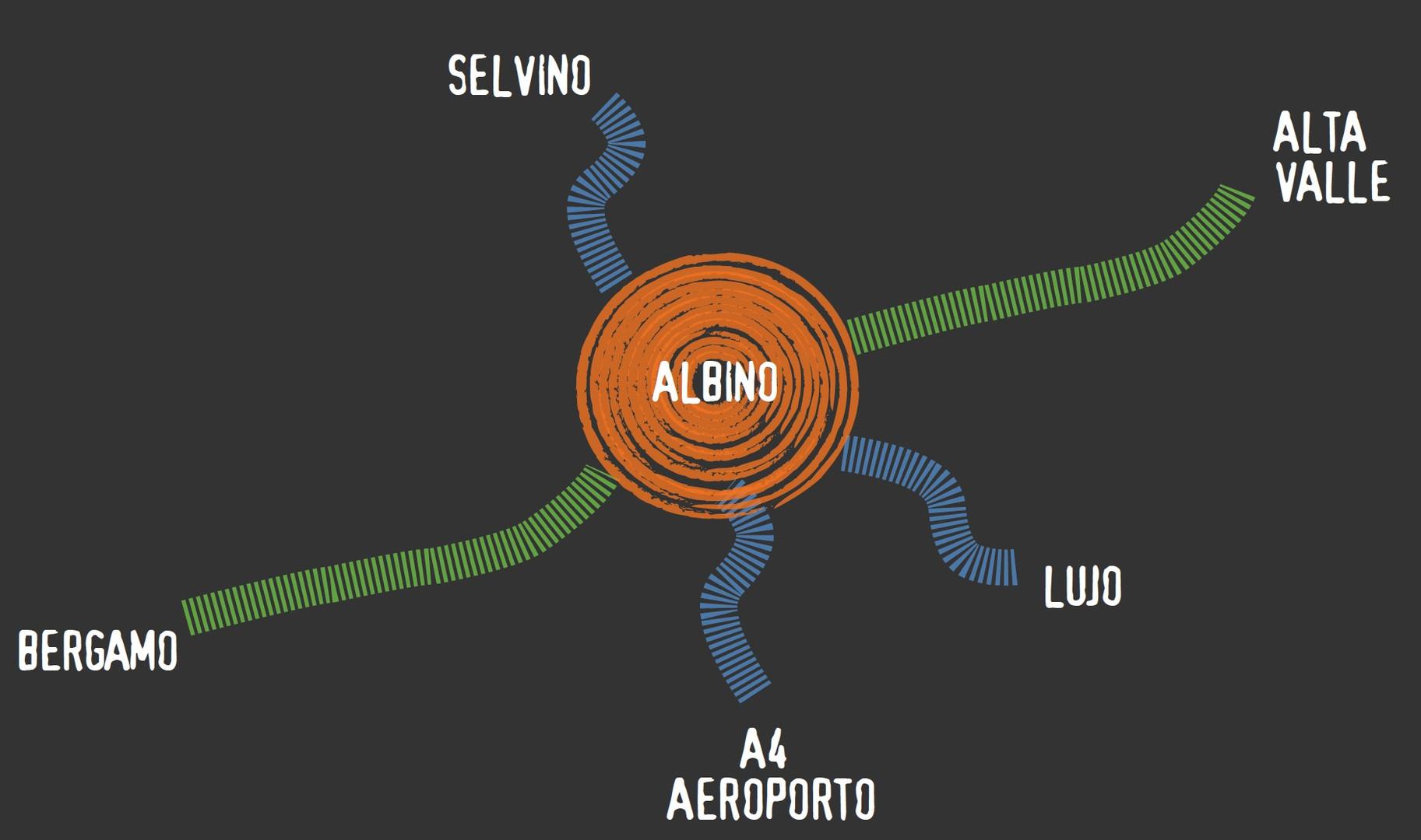 LA CENTRALITA' DI ALBINO